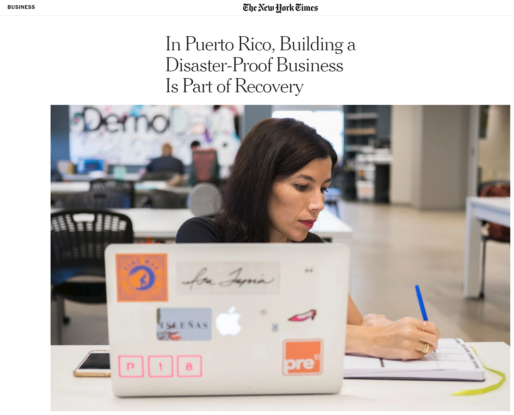 In Puerto Rico, Building a Disaster-Proof Business Is Part of Recovery