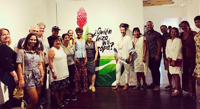 We had an awesome time yesterday at our @fash_rev event! We send a huge #thanks to our host @fundacioncasacortes as well as our speakers @zigzag_swimwear @lachiwinha and @pensarafrica that were part of our conversation about #sustainable and #ethical #fashion and #fairtrade #sustainablefashion #ethicalfashion #fashionrevolution . . ¡Tuvimos un tiempo increíble ayer en nuestro evento @fash_revpr! Queremos agradecer a nuestro anfitrión @fundacioncasacortes así como a los oradores @zigzag_swimwear @lachiwinha y @pensarafrica que formaron parte de nuestra conversación sobre #moda #sostenible y #ética al igual que de #comerciojusto #modasostenible #modasustentable #modaetica