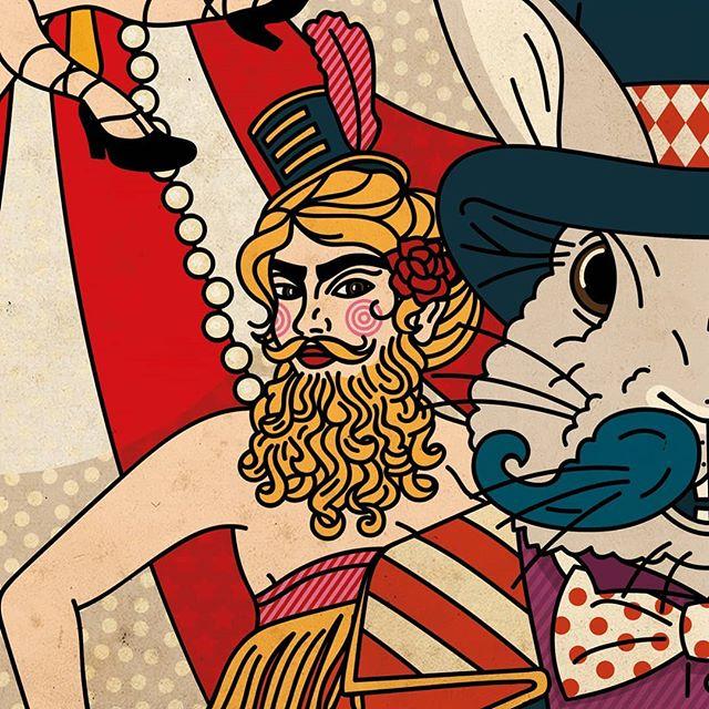 Inni hodet mitt, bak øynene mine, er det et sirkus. Et sirkus! #detvendebryggeri #cirque #saison #ddh #hops #killerbunny #neipa #theateroftheabsurd #craftbeer #bu