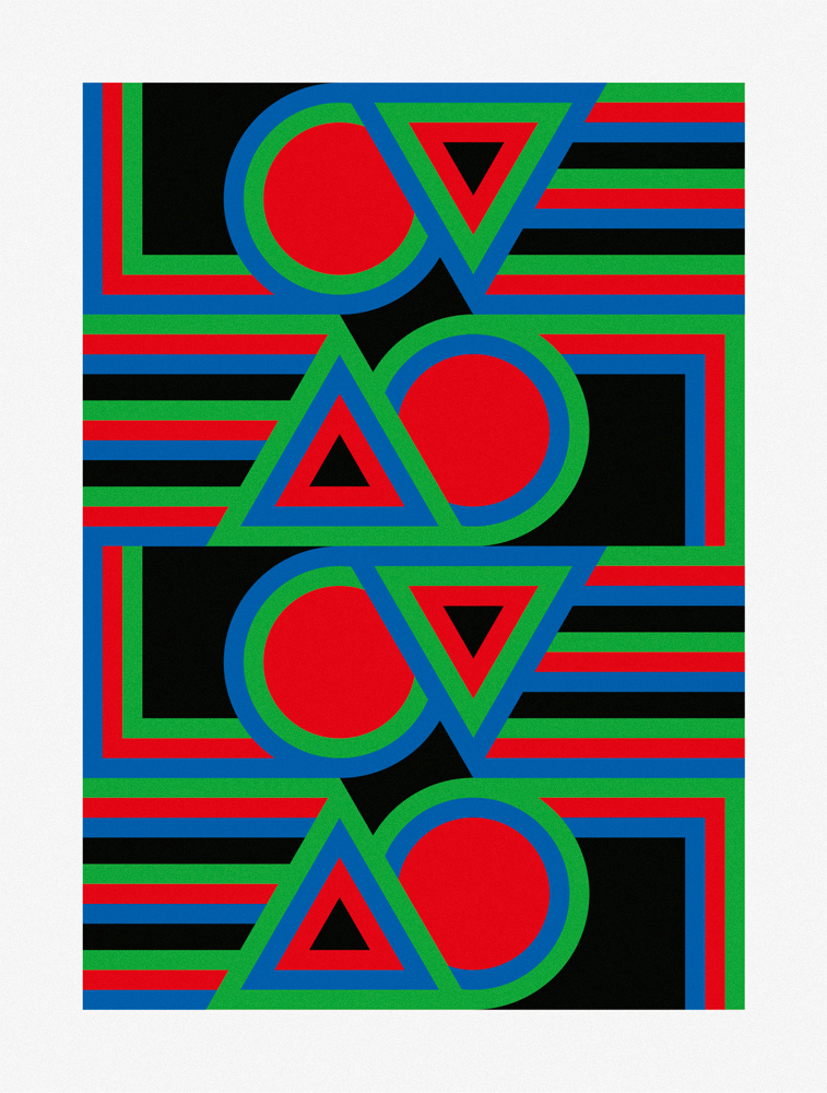 Four states of love Transition 1 print by ropp schouten