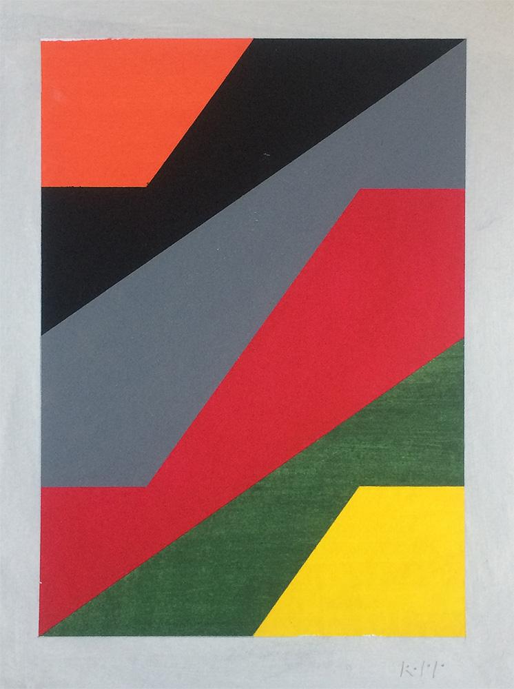 Lines between colors - 1a