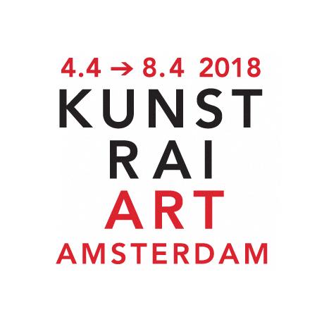 ropp schouten tijdens de Kunstrai Amsterdam 2018