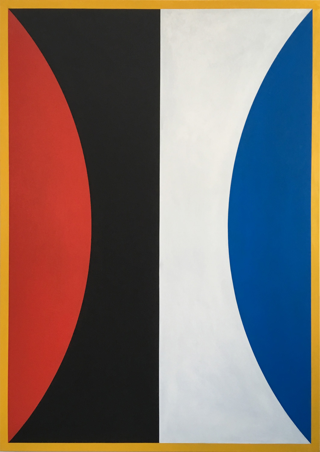 Two One Zero  111 x 156 x 3.5 cm. Oil on canvas, 2018.    ropp schouten