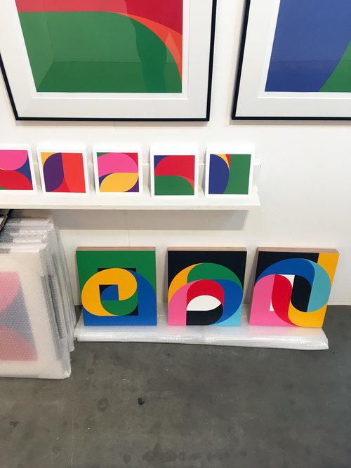Ropp at Art on Paper 2018, Amsterdam