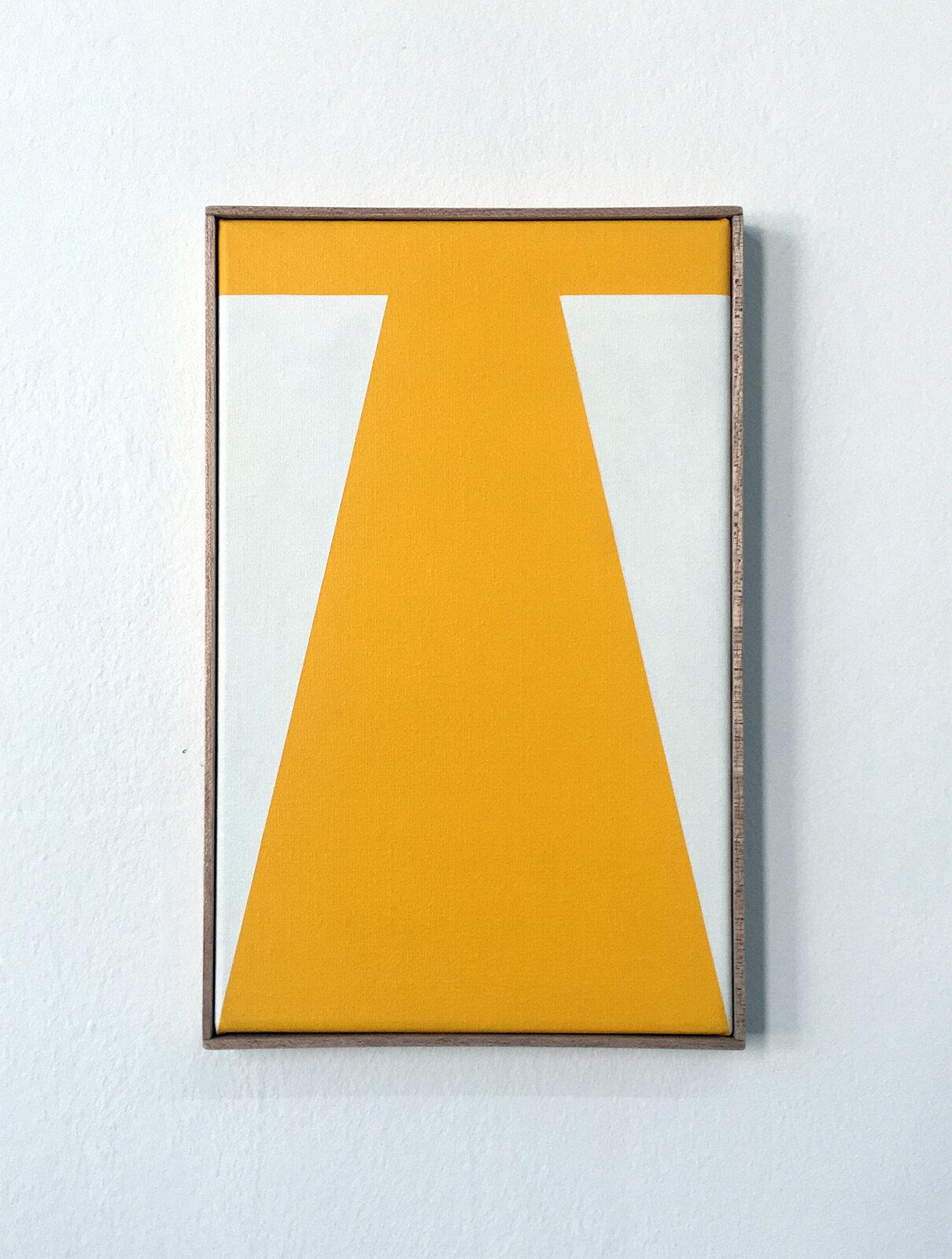 Yippee   21 x 33 cm Acrylic on canvas