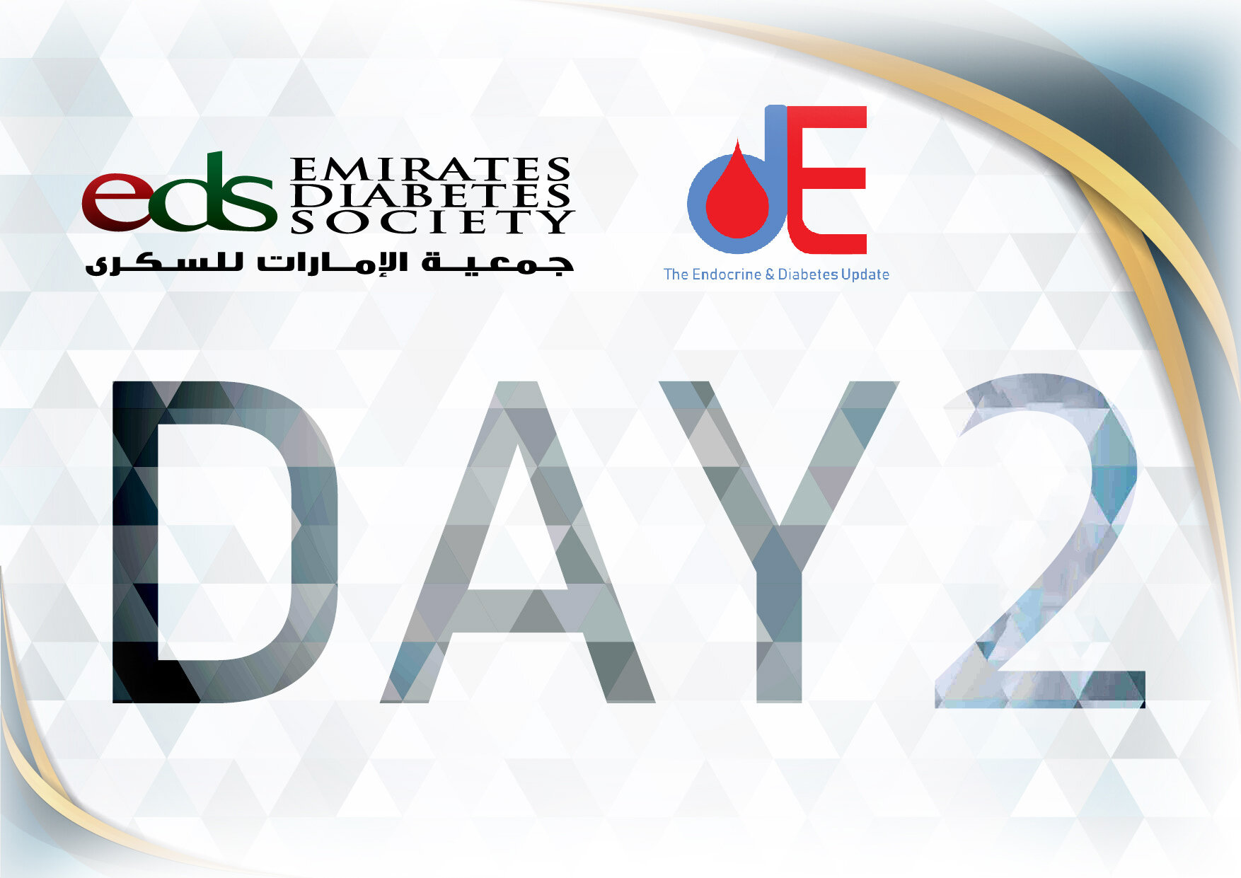 EDS 2019 Endocrine and Diabetes Program ( Day 2 ) - You will receive your CME by email with 3 working days