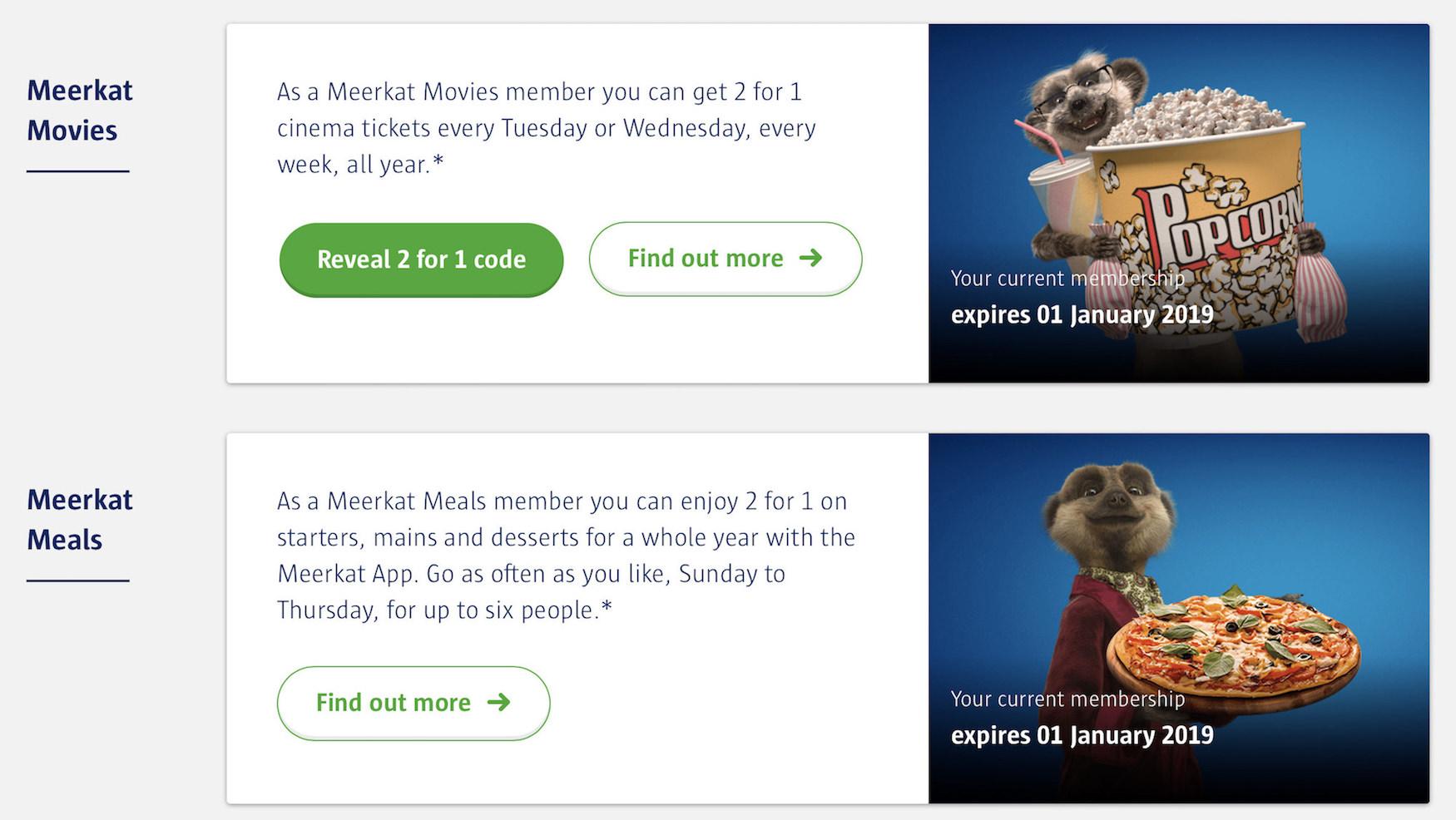 Meerkat Meals and Meerkat Movies