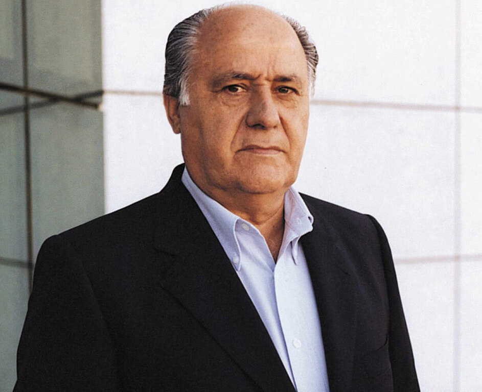 Amancio Ortega - Born: March 28th, 1936 in León, SpainNet Worth: $62.7Bn (March 2019)Co-Founder of Inditex fashion group
