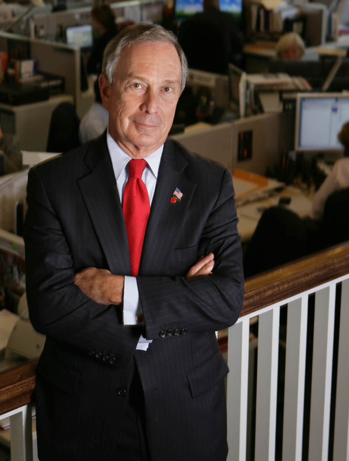 Michael Bloomberg - Born: February 14th, 1942 in Boston, MassachusettsNet Worth: $55.5Bn (March 2019)Founder and CEO of Bloomberg, 108th Mayor of New York City