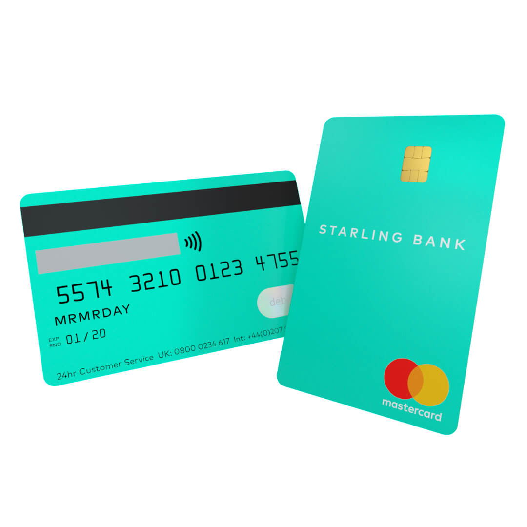 Starling Bank Personal Current Account - Debit Mastercard