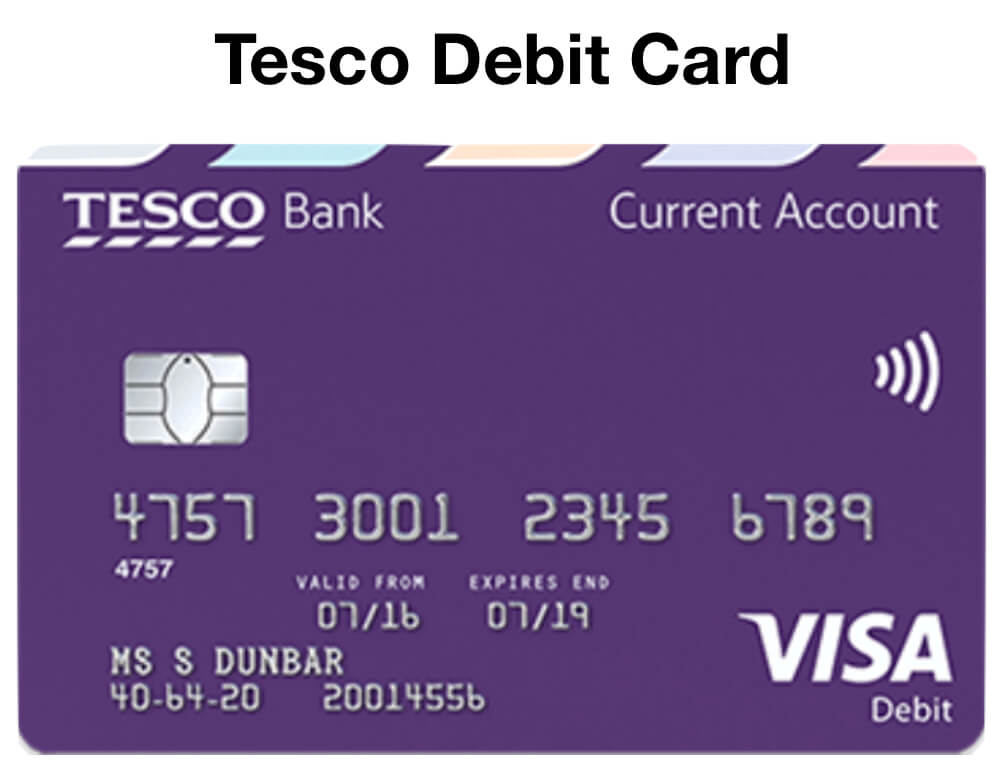 Tesco Debit Card - Boost Your Clubcard Points
