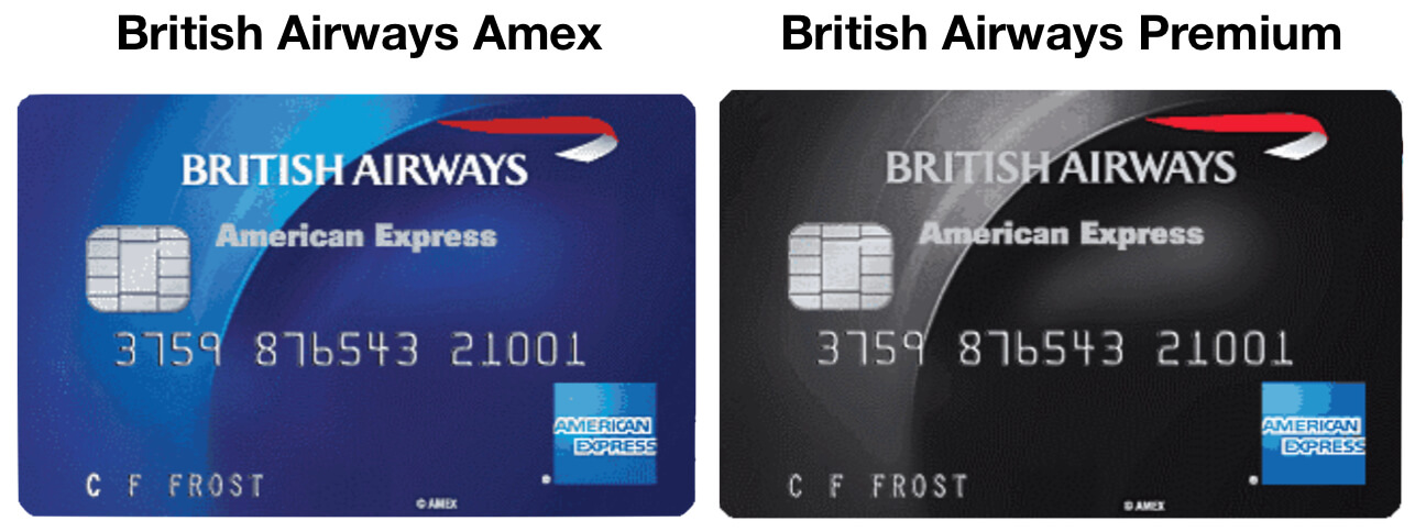 American Express UK British Airways Cards