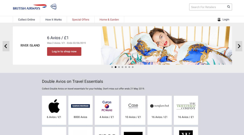 British Airways Executive Club eStore