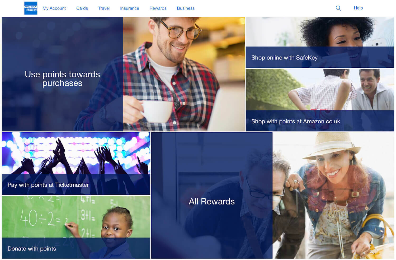 American Express Points - Redeeming - UK