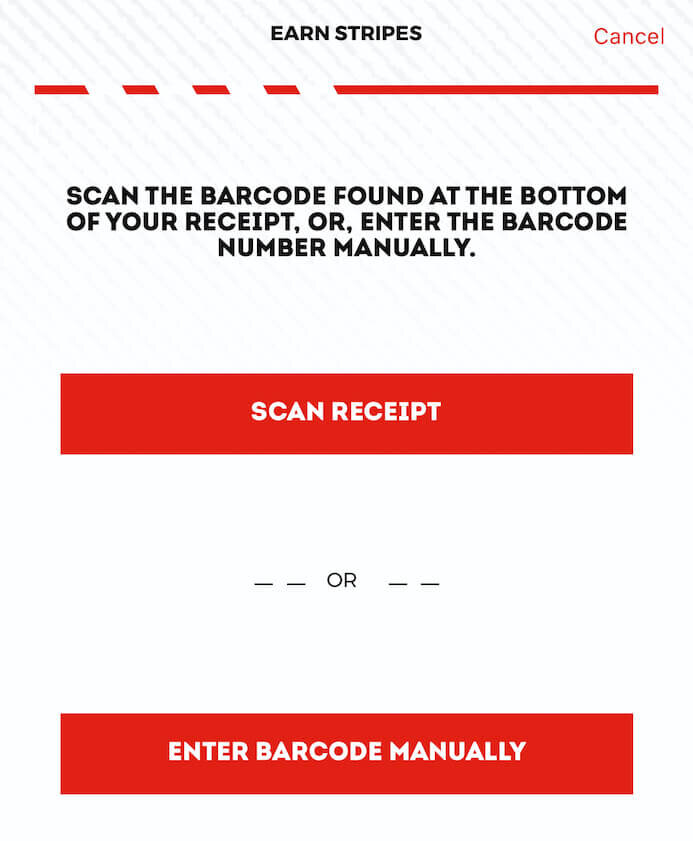 TGI Fridays Rewards App UK - How To Scan Receipts