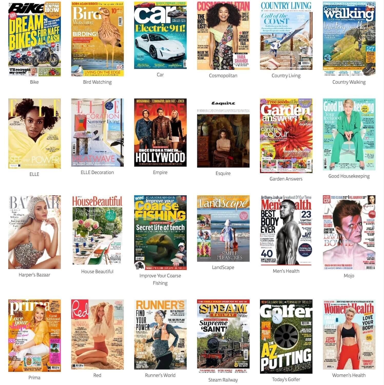 Club Lloyd Magazine Options