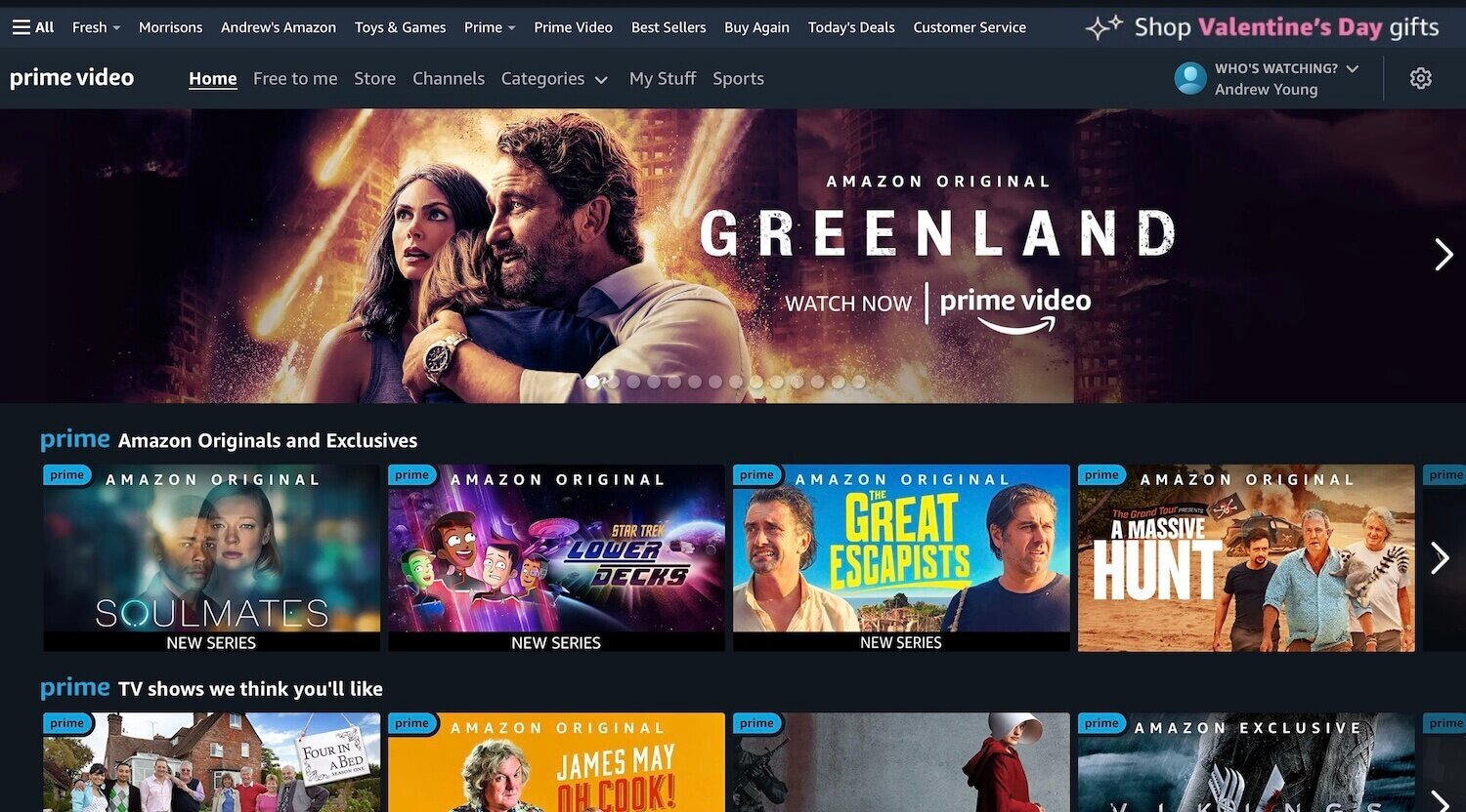 Amazon Prime Video Deals and Free Trials UK