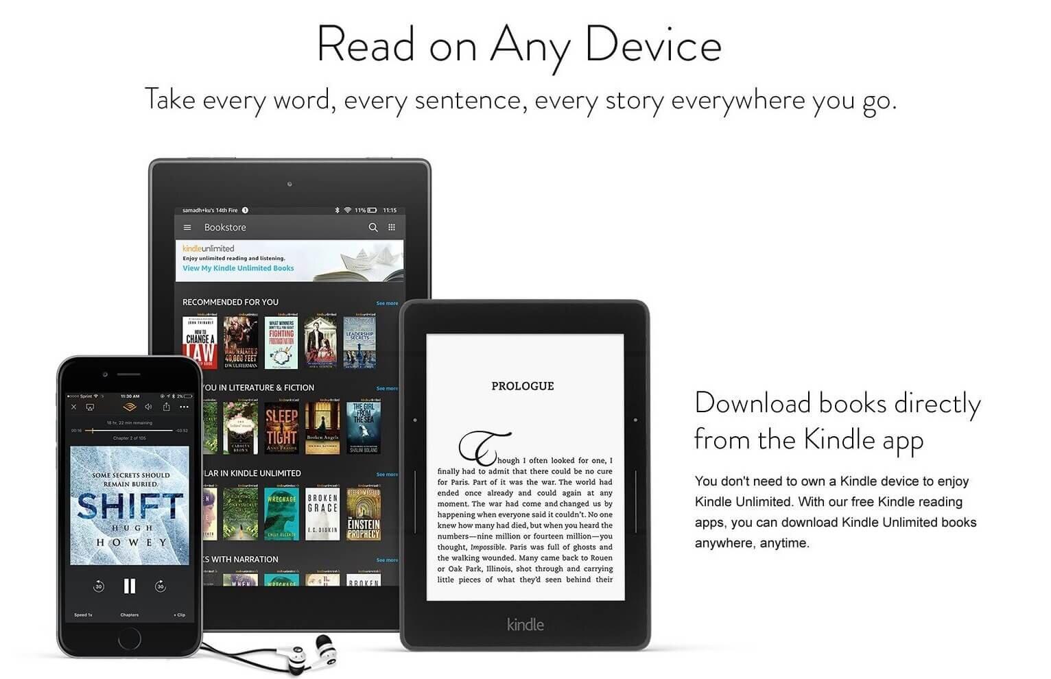 Kindle Book, Magazine, Newspaper, Device Deals UK