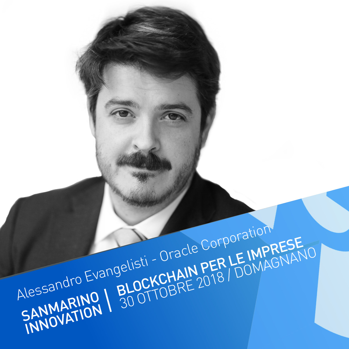 Blockchain: I vantaggi della deistituzionalizzazione delle relazioni tra soggetti economici - Alessandro Evangelisti è il Finance & Supply Chain Cloud Evangelist per Oracle West Europe dove aiuta le imprese a delineare la loro Digital Agenda.