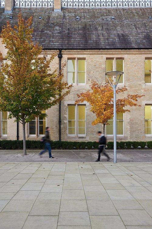 Arkwright Building Courtyard, Nottingham Trent University