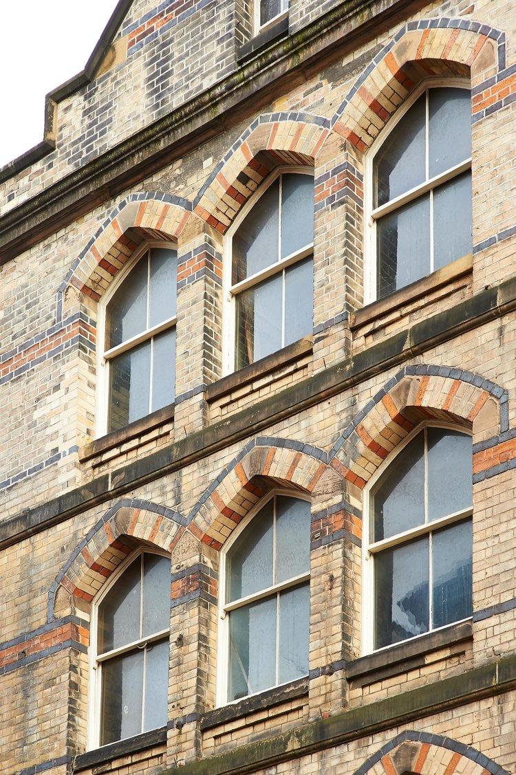 Building Facades, Derby City Centre
