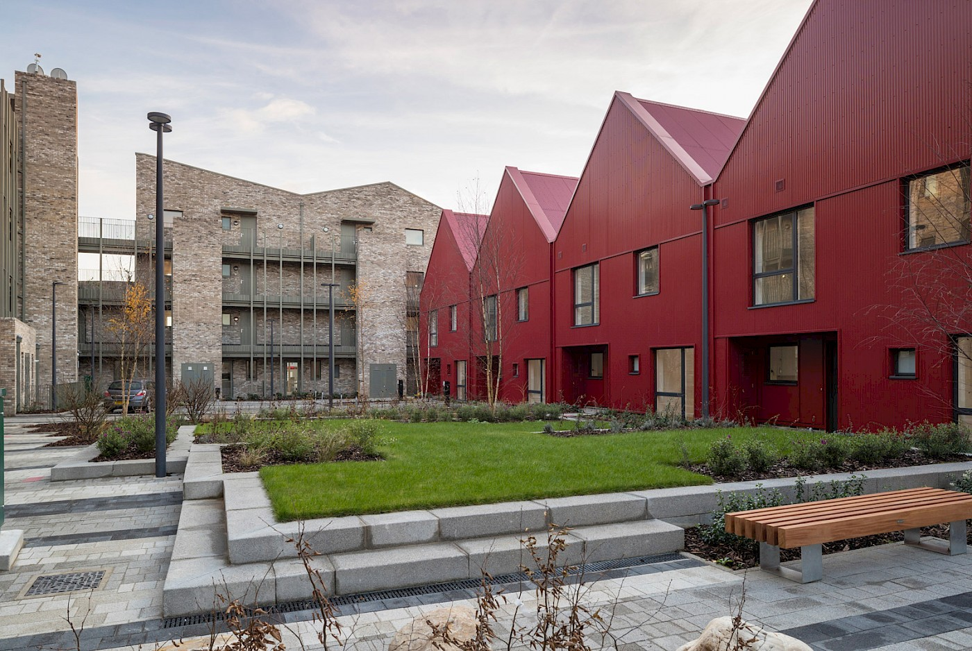Affordable housing scheme on Sutherland Road in Waltham Forest, London