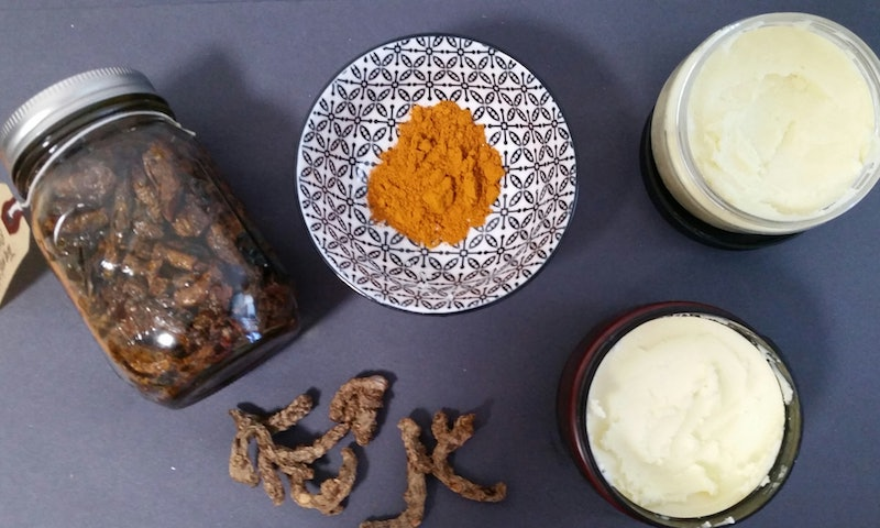 Turmeric Body Cream Ingredients ©  2016, Kristy Collins Jackson, Bustle.com
