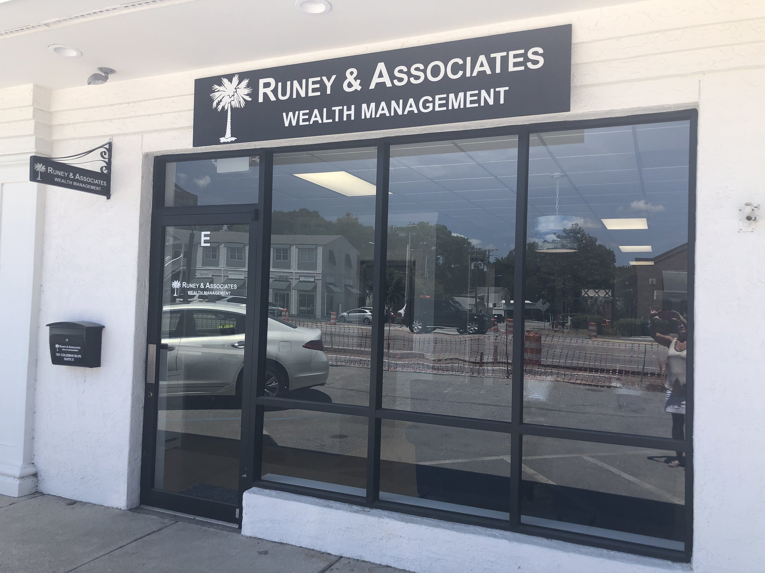 Store Front to Runey & Associates Wealth Management