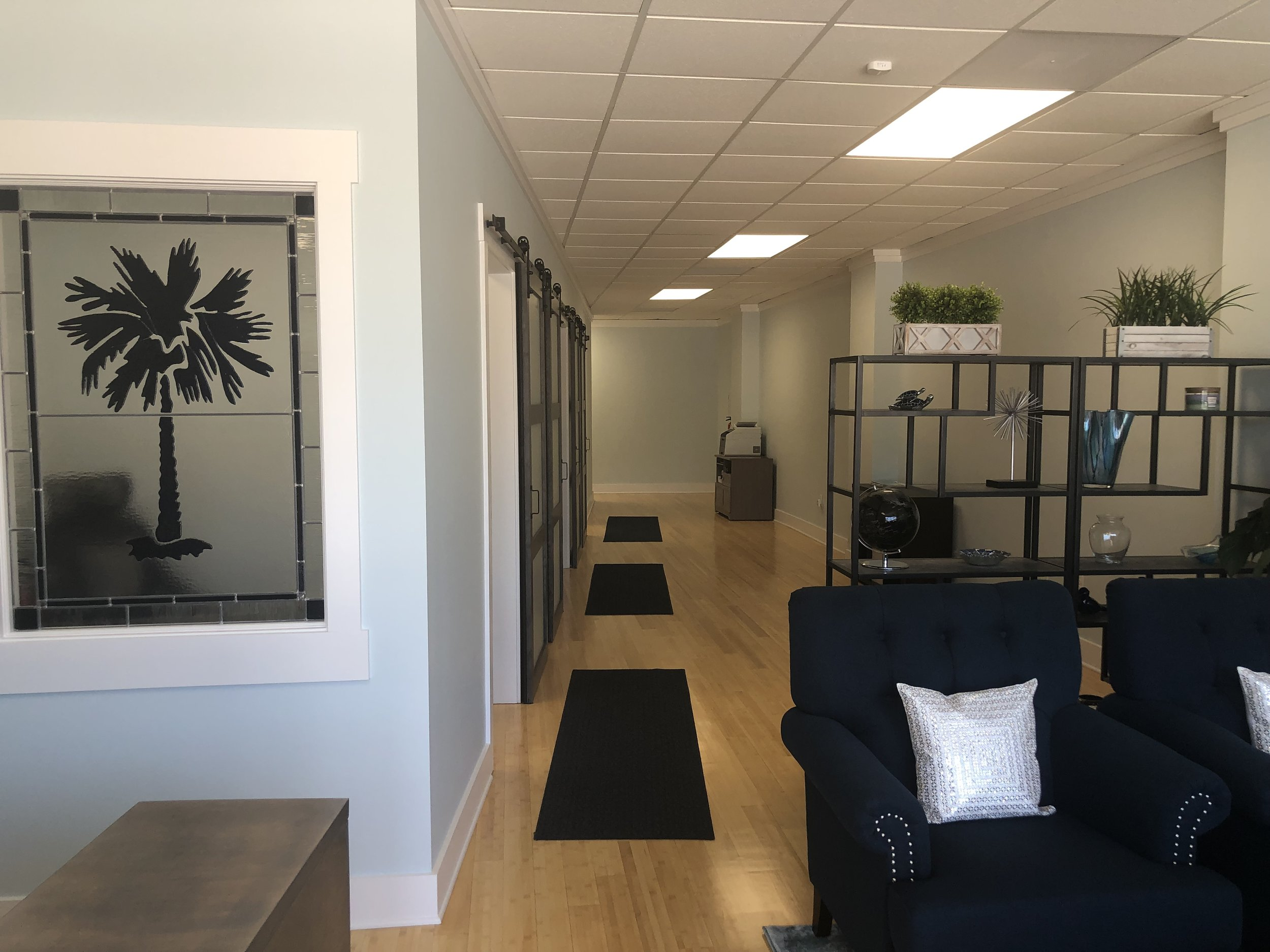 Front Office with Reception Area, Welcome Area and Hallway