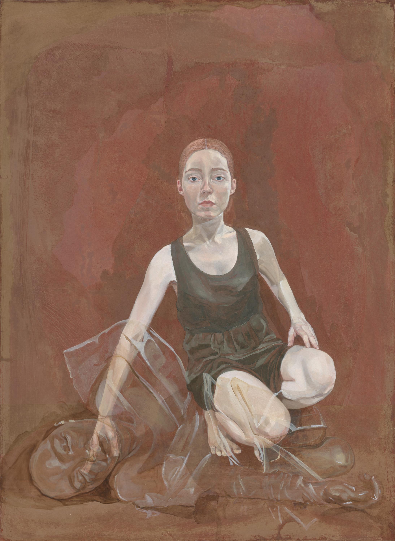 'Eternal Metamorphoses', (2019) oil on copper, 77 x 60 cm