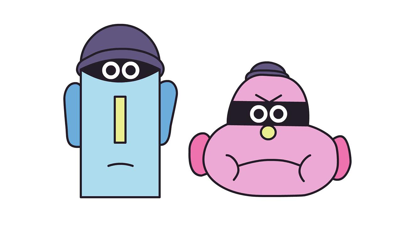 Harvey Nichols • Shoplifters • Character Design • Paul Layzell