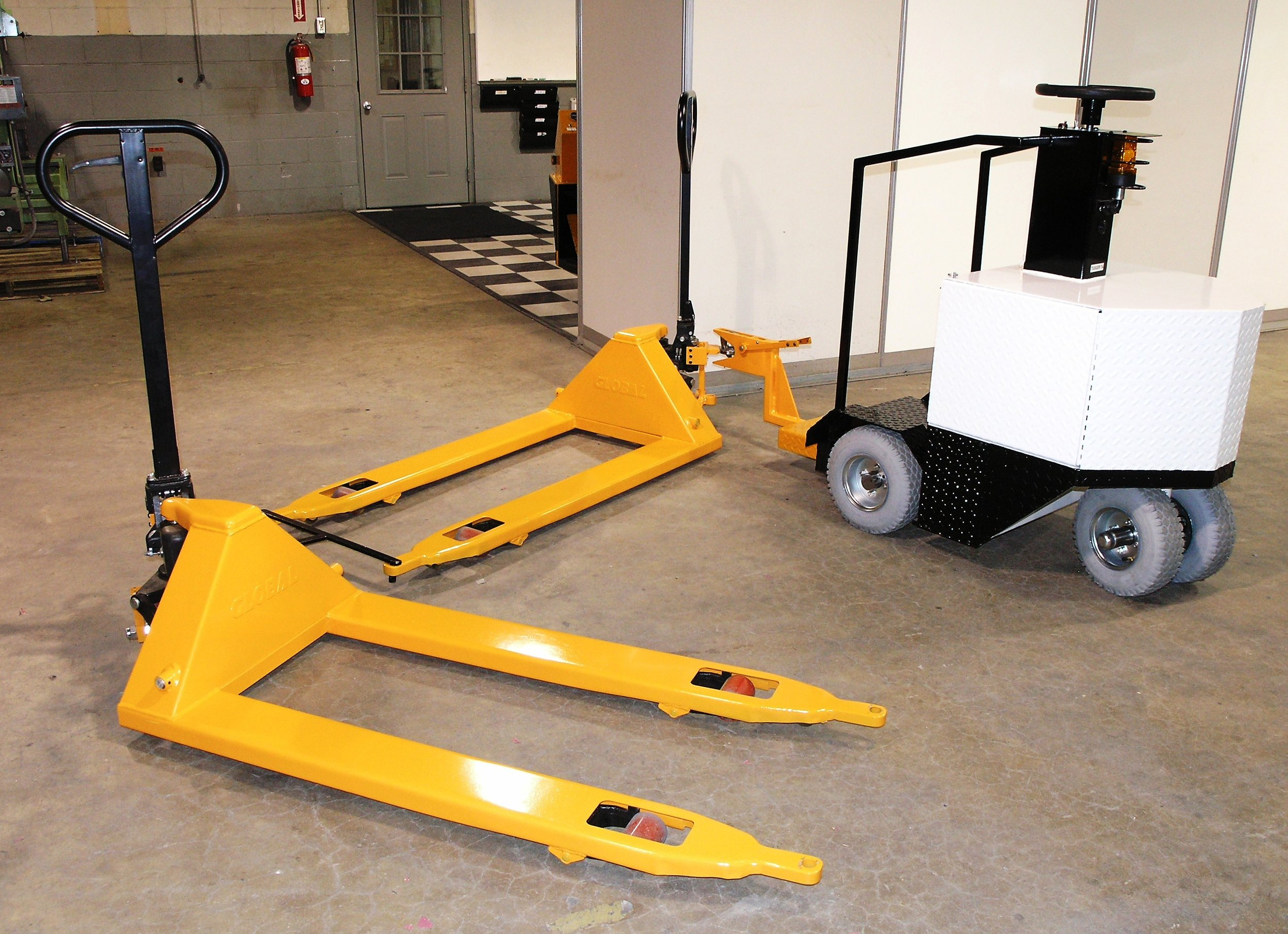 TCI Equipment complimenting EV Systems and Material Handling needs