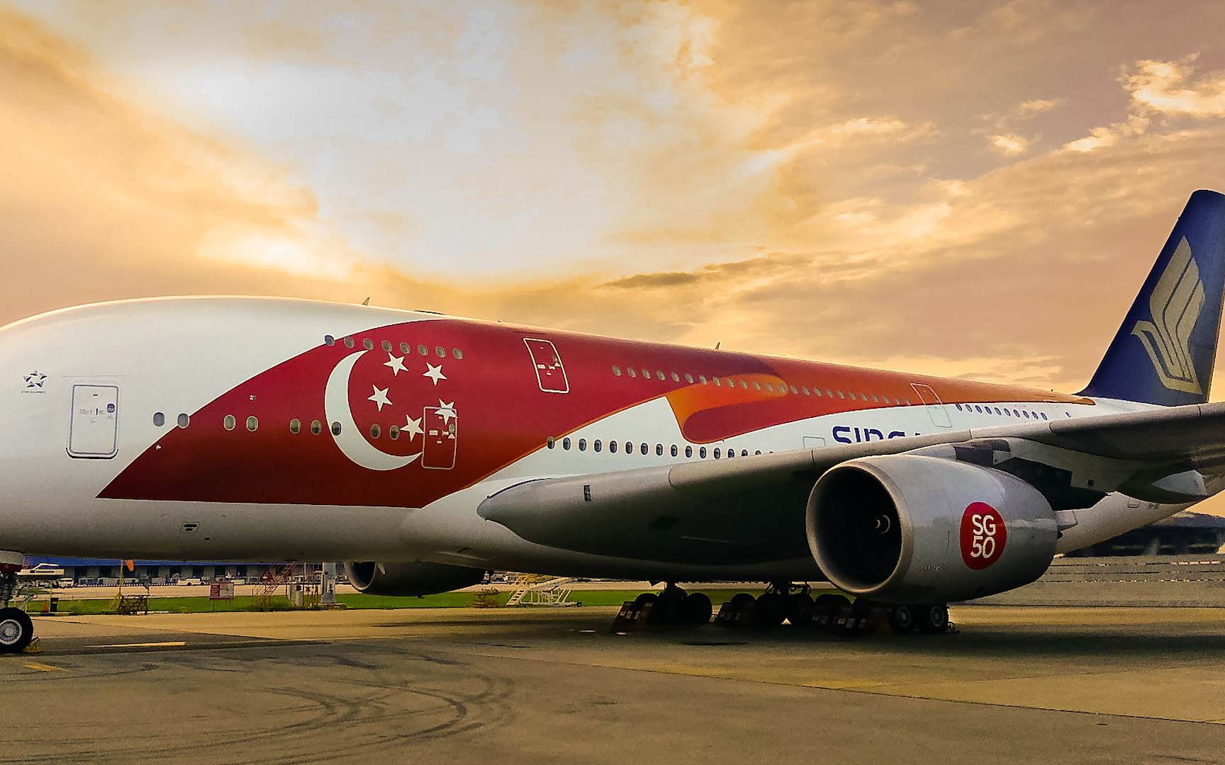 Singapore Airlines' SG50 A380, photo courtesy of Travel+Leisure