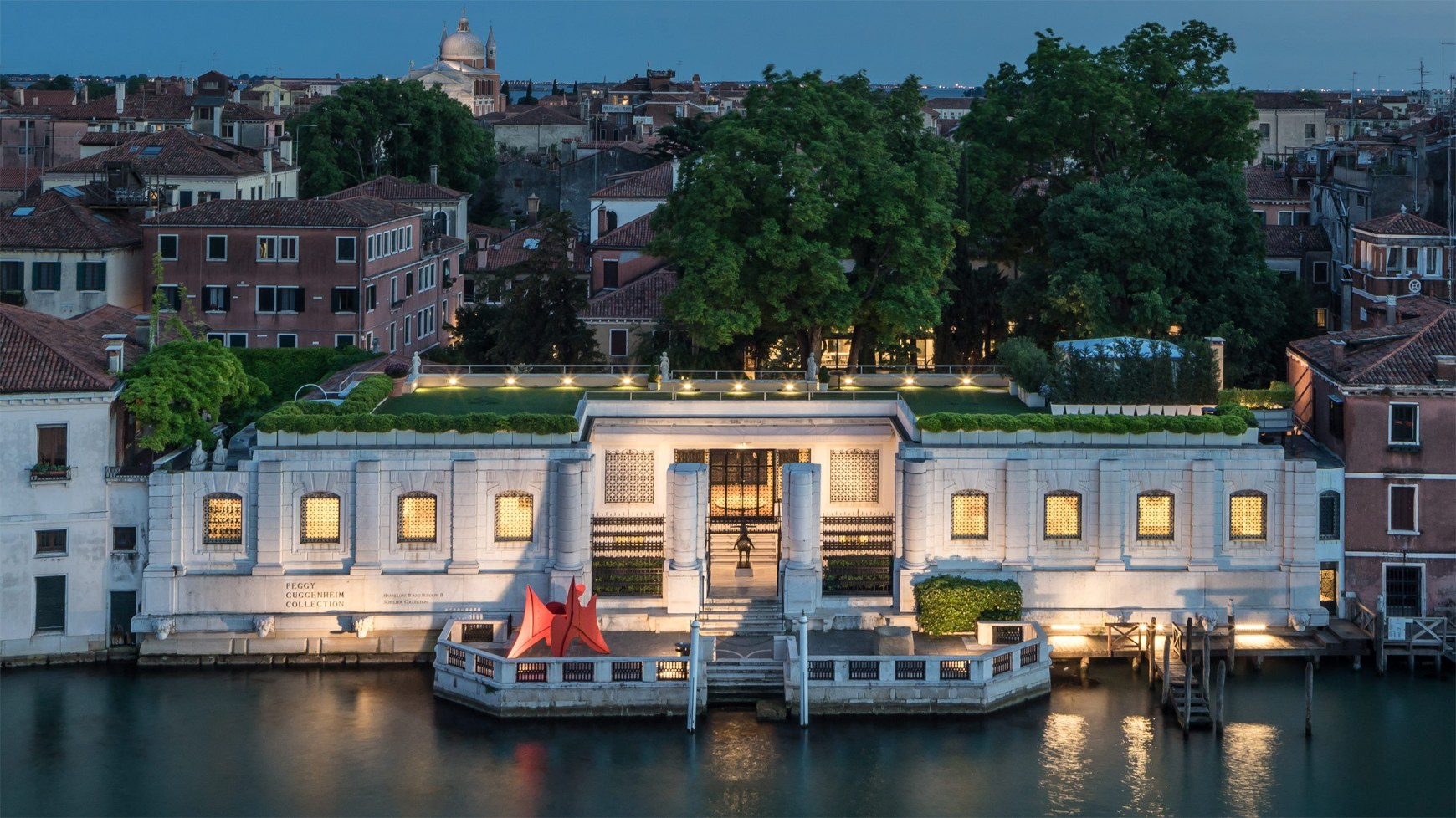 The Peggy Guggenheim Museum in Venice, photo from  Guggenheim