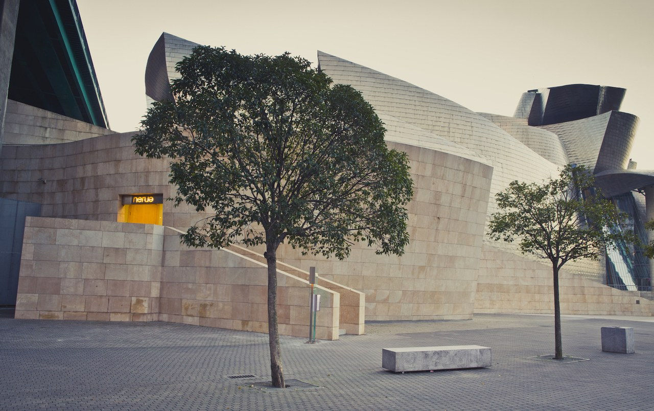 The Guggenheim Bilbao from another angle, photo from  Nerua
