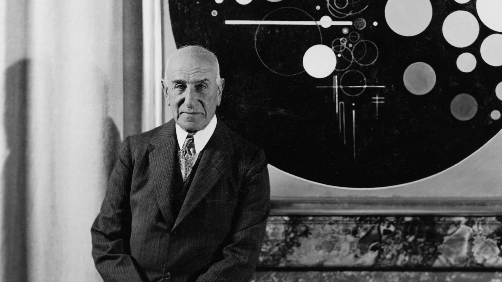 Mr Solomon Guggenheim, the patron of the arts that kicked this whole movement off, photo from  Guggenheim