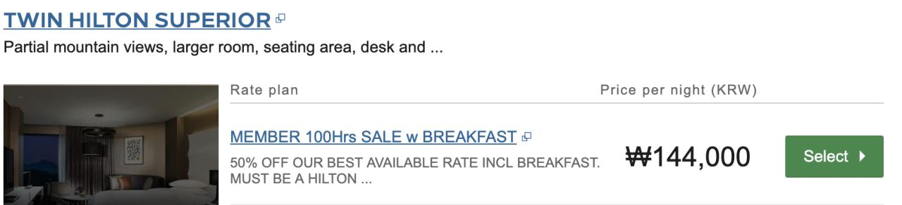 Only 48 Hours Left Until the Hilton Japan & Korea Sale (Up to 50