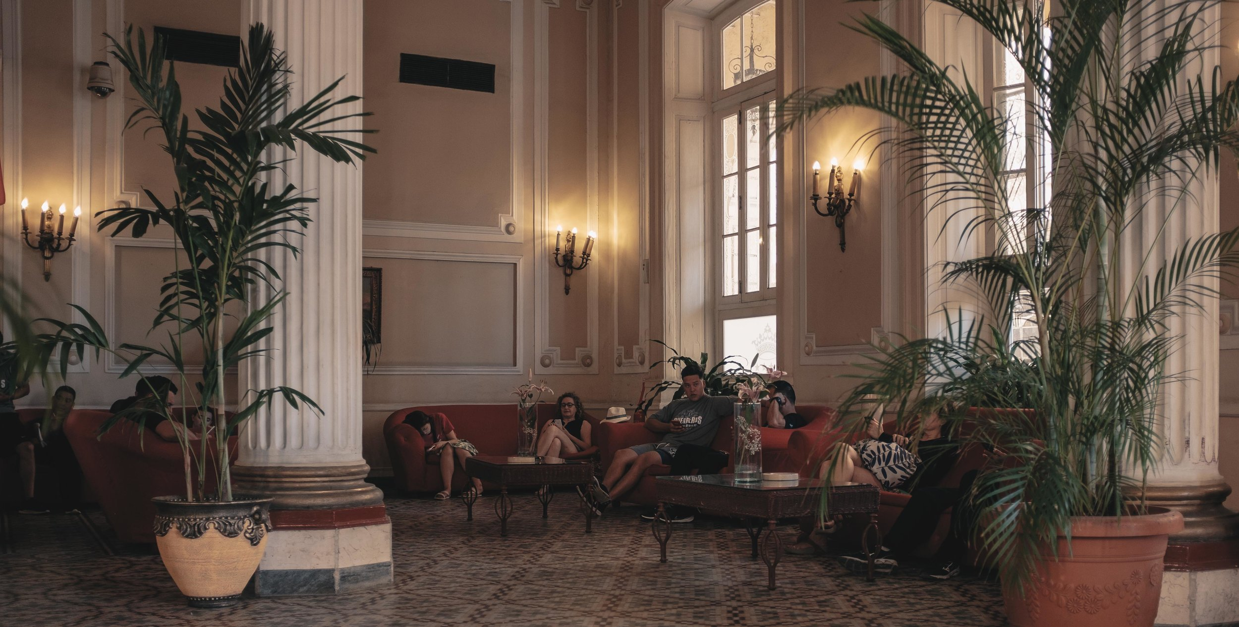 The Hotel Gran Caribe Plaza, one of the properties surrounding Havana's Parque Central