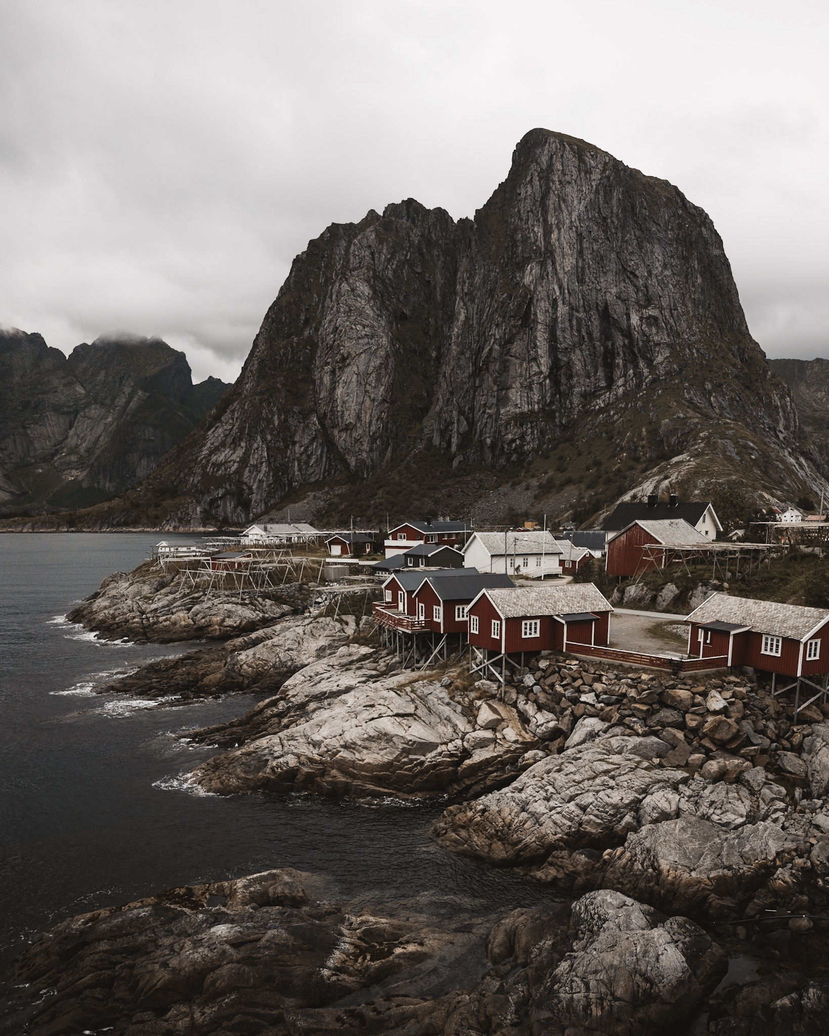 The very real place called Reine.    @kayla_silverfox
