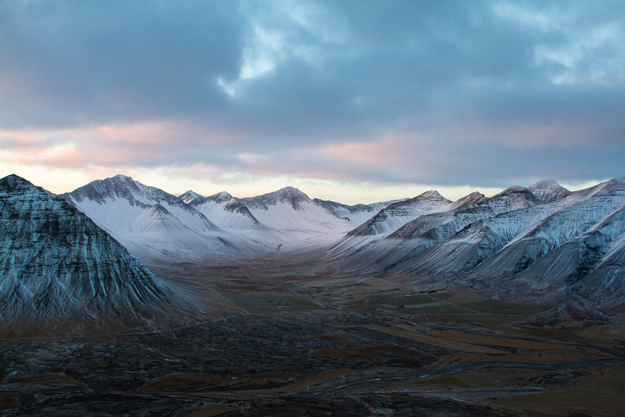 Arctic volcanic landscapes