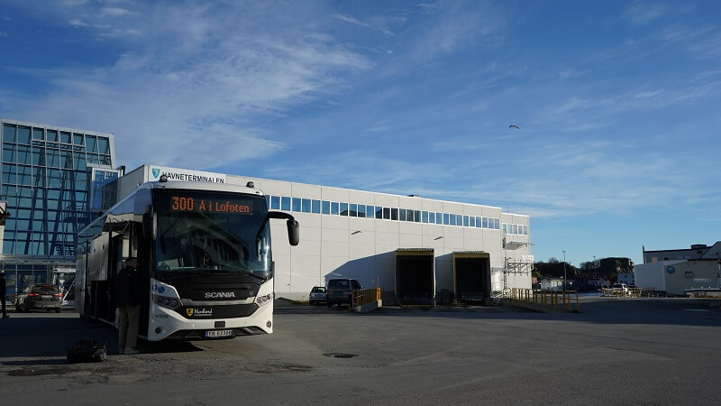 When flying into Harstad, remember to land early to make sure you catch the  Lofoten express  bus and avoid overnights. @onetechtravveler