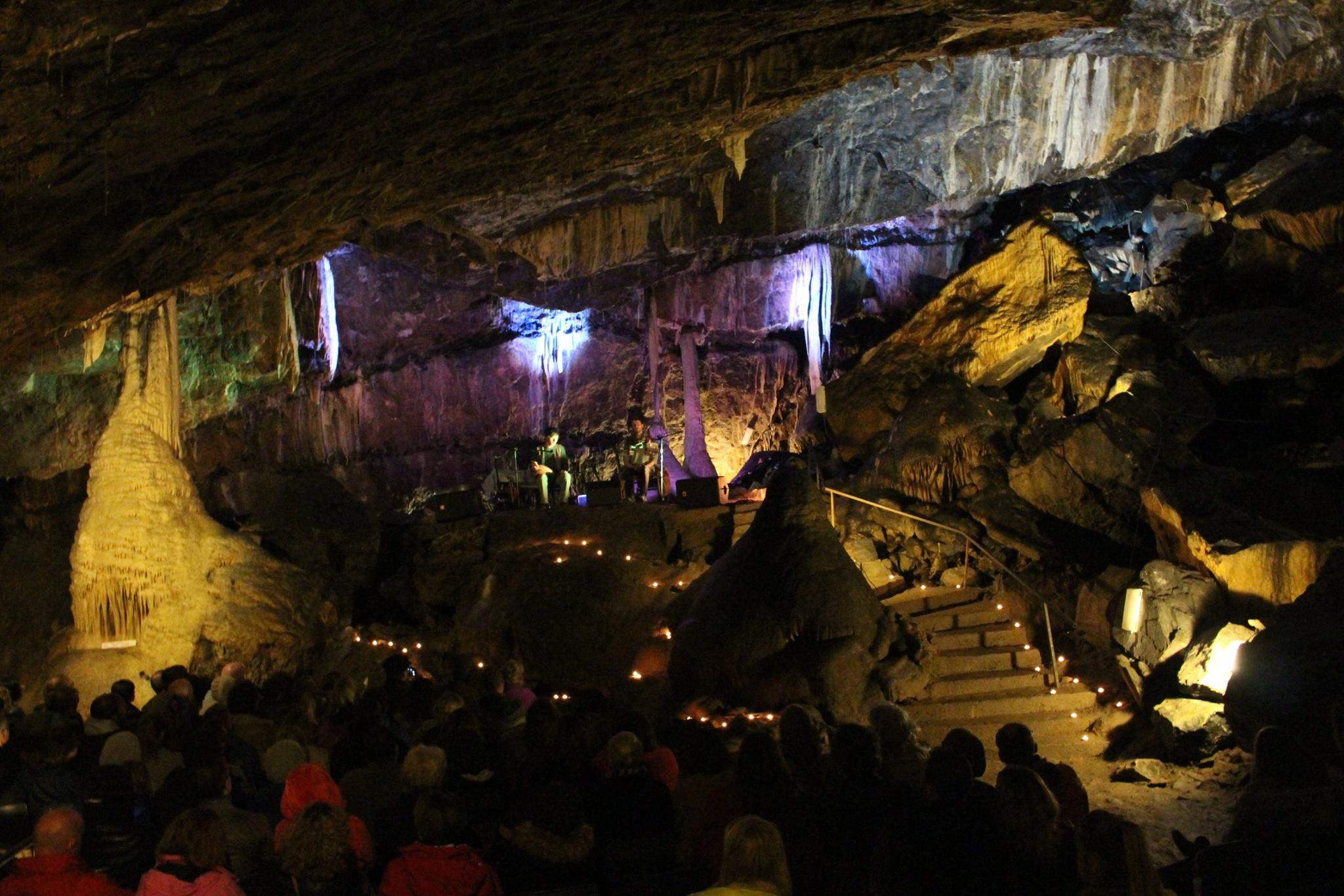 Concert in Mitchelstown Caves -