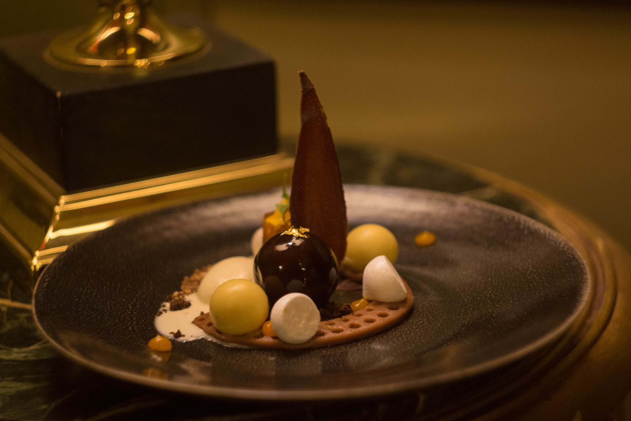 Le Mystique, Hotel Heritage: Dessert