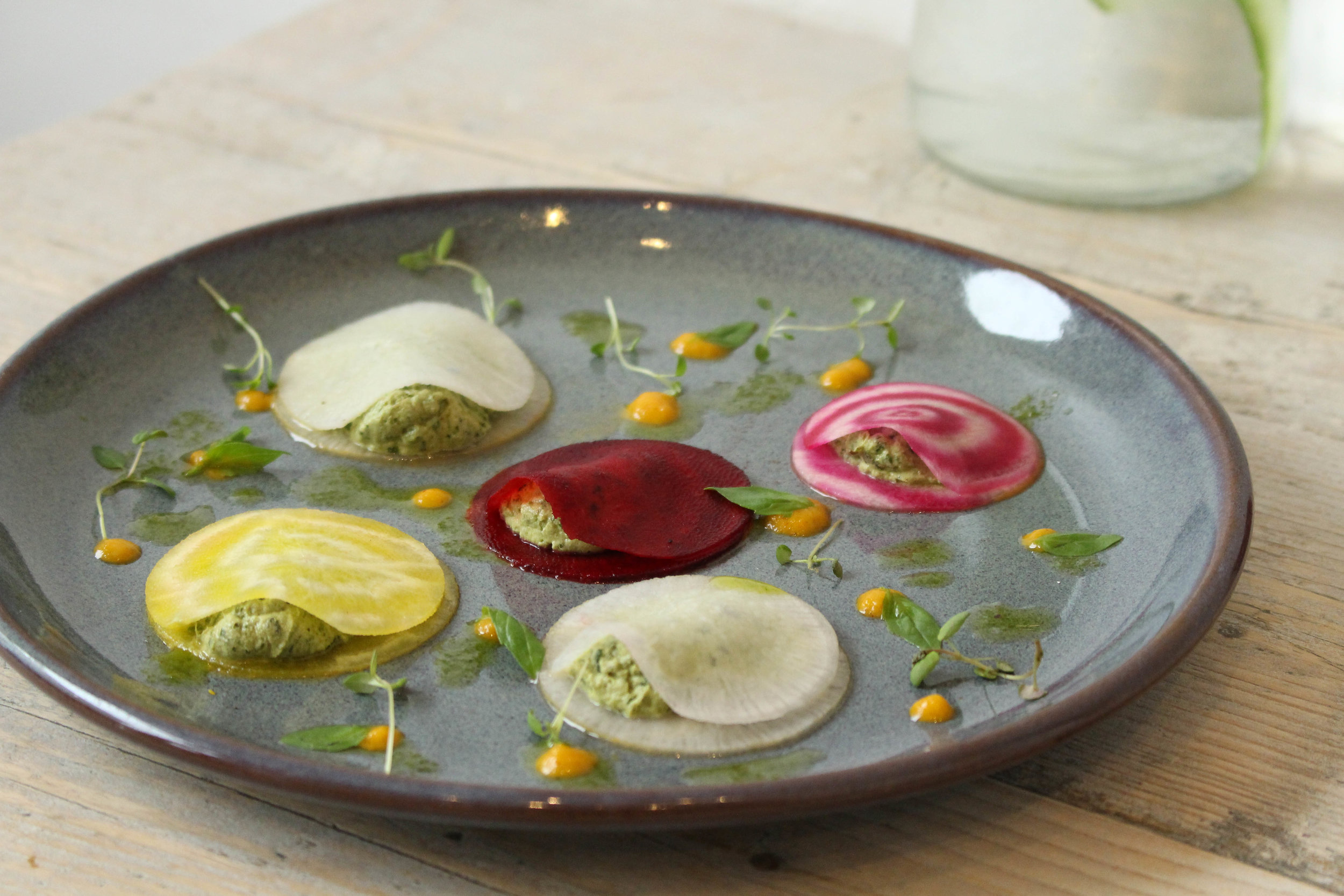 NAMA Foods: Beetroot Ravioli
