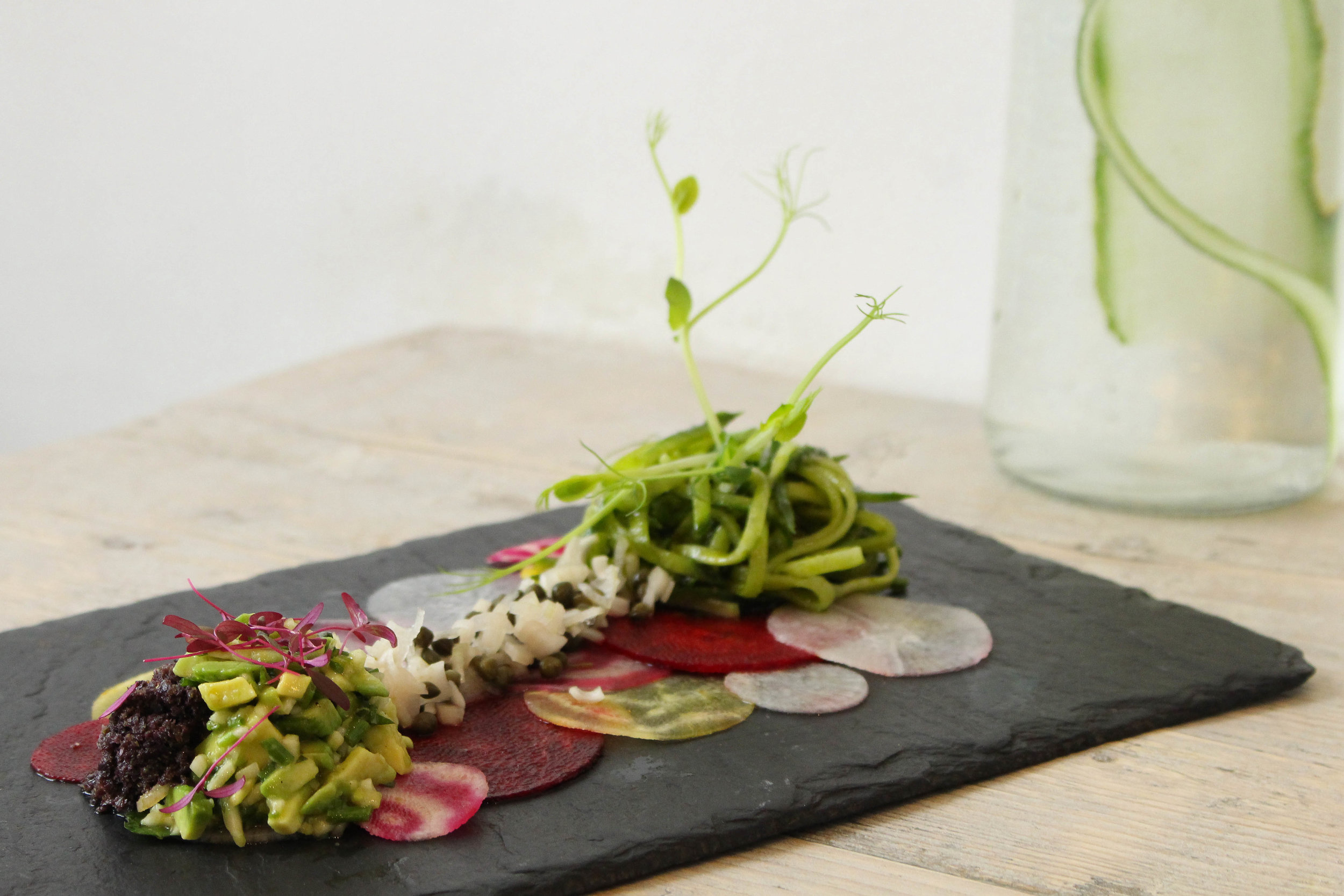 NAMA Foods: Beetroot Carpaccio