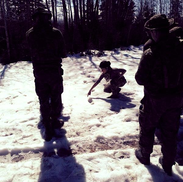 Formation en pistage humain, Équipe de Recherche et Sauvetage au sol, 3e Escadre, Bagotville