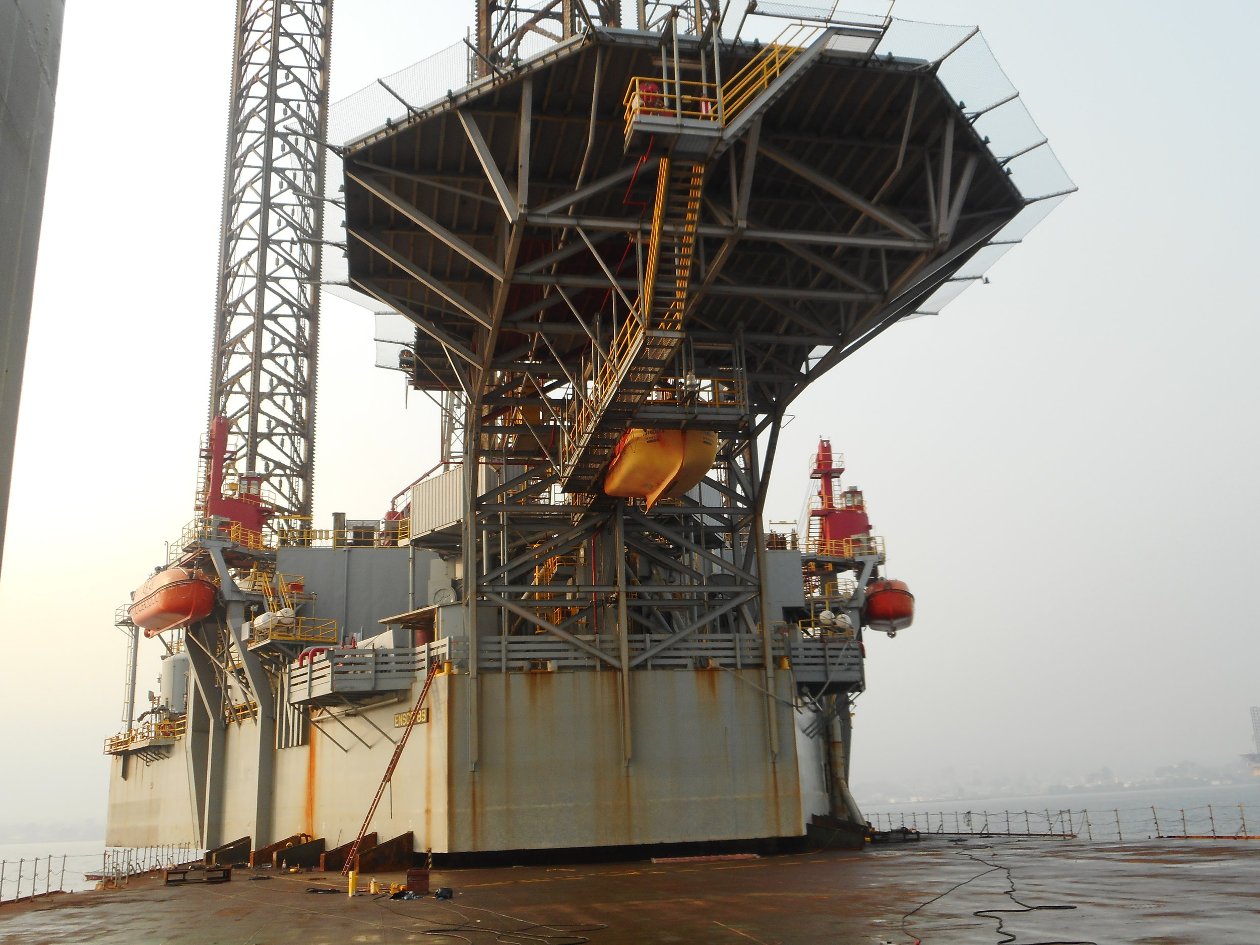 Dutch Offshore Contractors BV Sea Fasteners For Rig Transport