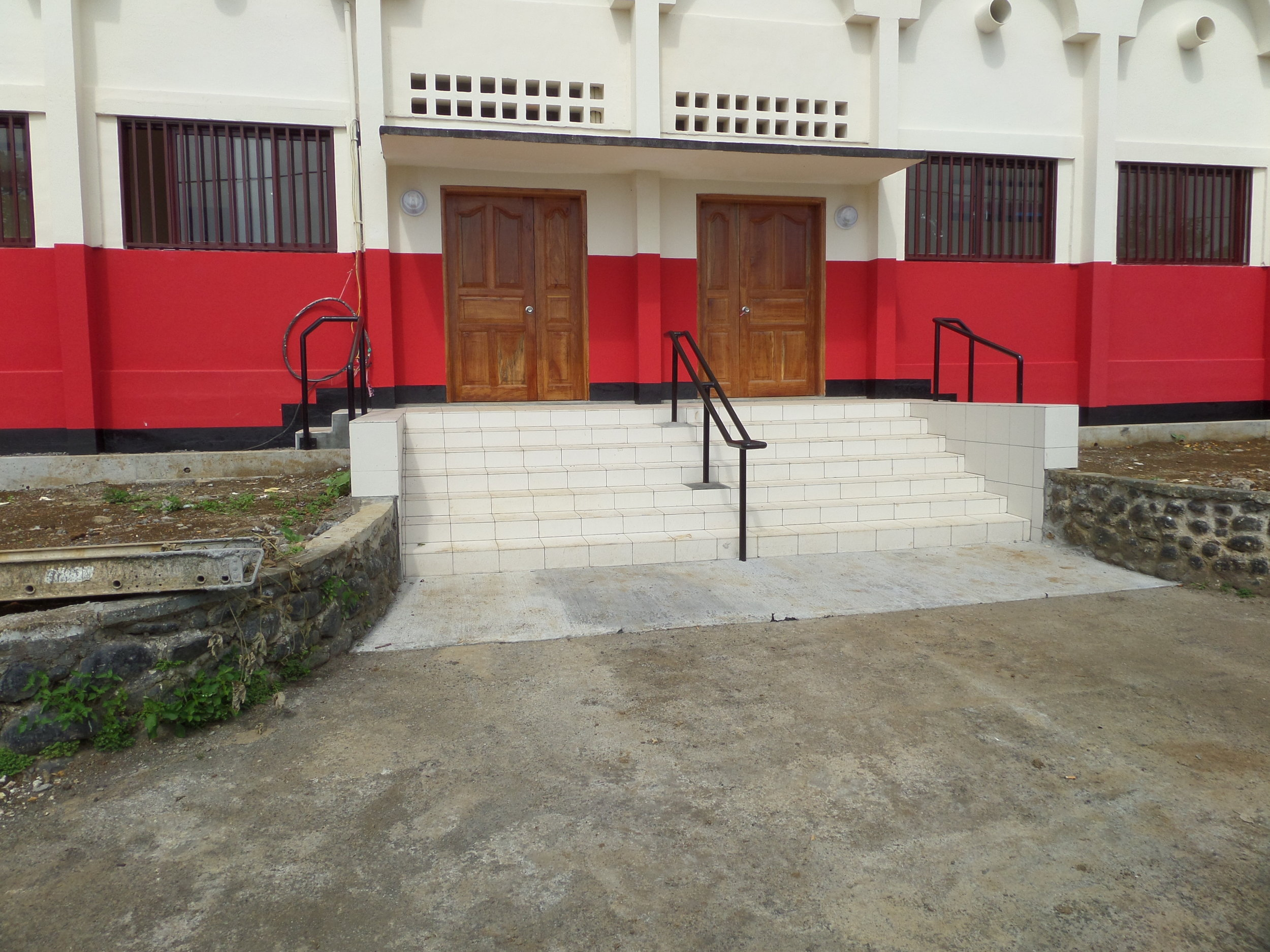 Noble Energy Basakato School Refurbishment