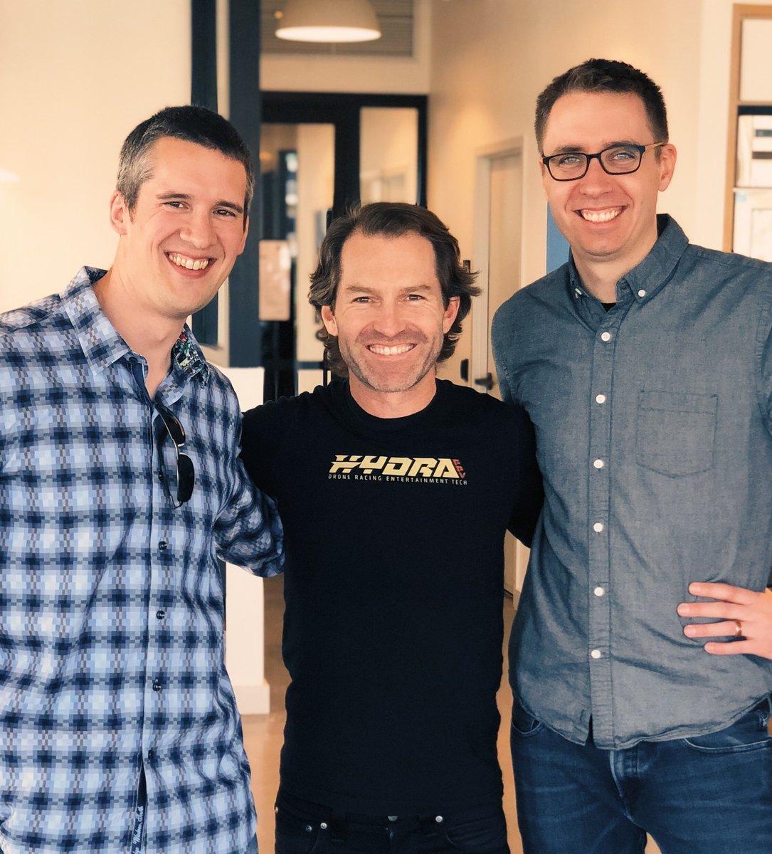 L to R: Matt Otterstatter (CFO), Marty Wetherall (CEO), Joel Stewart (CTO)