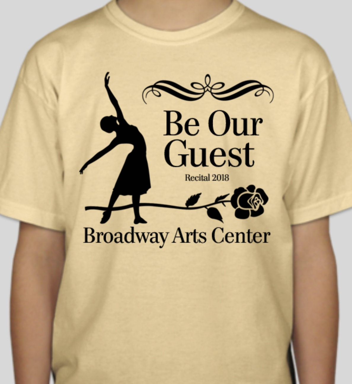 REcital ShirtS $16 - ORDER ONLINE BY APRIL 8, 2018